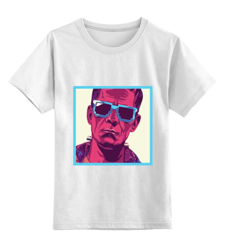 Детская футболка классическая унисекс Printio Монстр франкенштейна детская футболка классическая унисекс printio красавица и чудовище