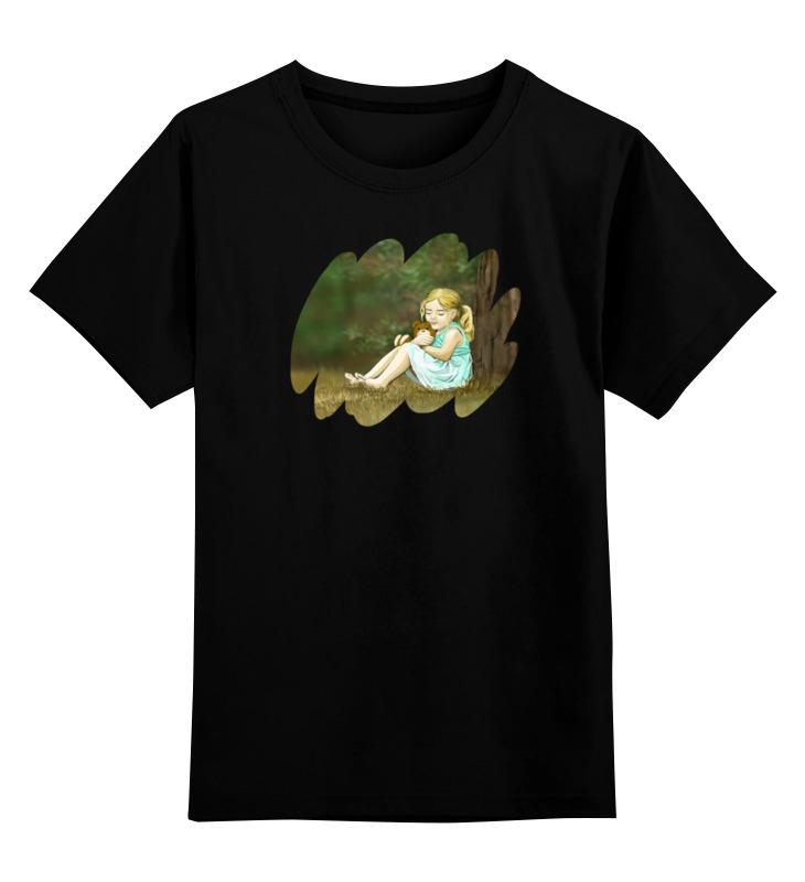 Детская футболка классическая унисекс Printio Мишка футболка для беременных printio мишка me to you