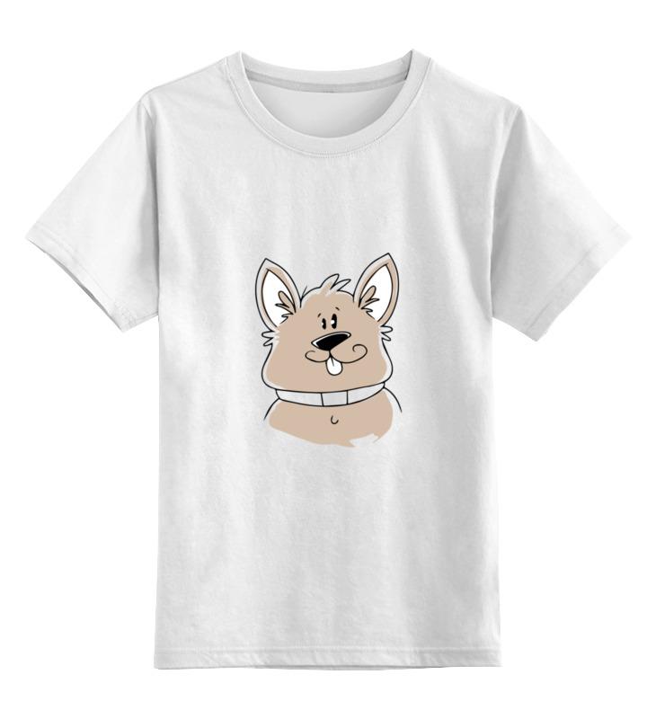 Детская футболка классическая унисекс Printio Весёлый пёс цена и фото