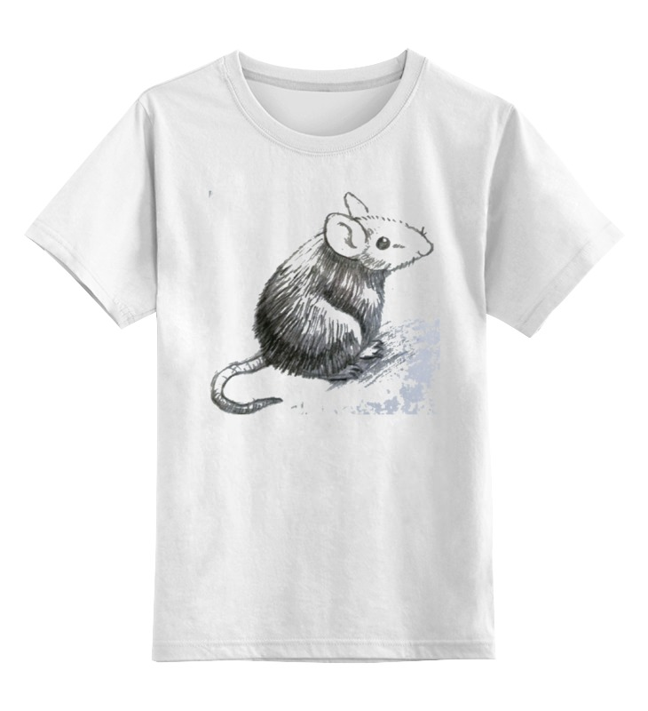 Детская футболка классическая унисекс Printio Мышонок пип татьяна сапрыкина мышонок и его имя