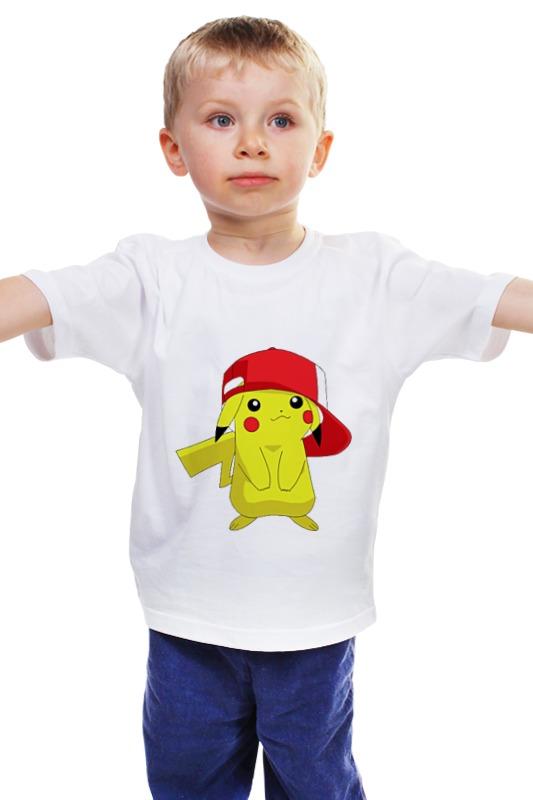 Детская футболка классическая унисекс Printio Pica! детская футболка классическая унисекс printio мачете