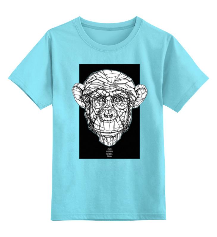 Детская футболка классическая унисекс Printio Monkey детская футболка классическая унисекс printio hamlet monkey