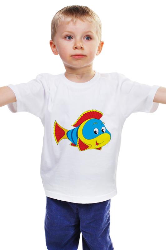 Детская футболка классическая унисекс Printio Рыбка 3 детская футболка классическая унисекс printio рыбка 3