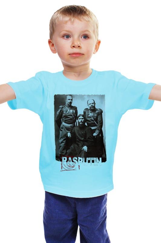 Детская футболка классическая унисекс Printio Rasputin детская футболка классическая унисекс printio мачете