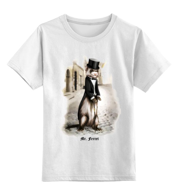 Детская футболка классическая унисекс Printio Mr. ferret футболка классическая printio игровая приставка денди