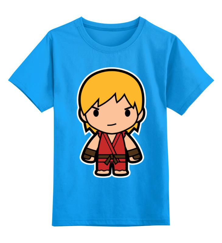 Детская футболка классическая унисекс Printio Ken (street fighter) цена и фото