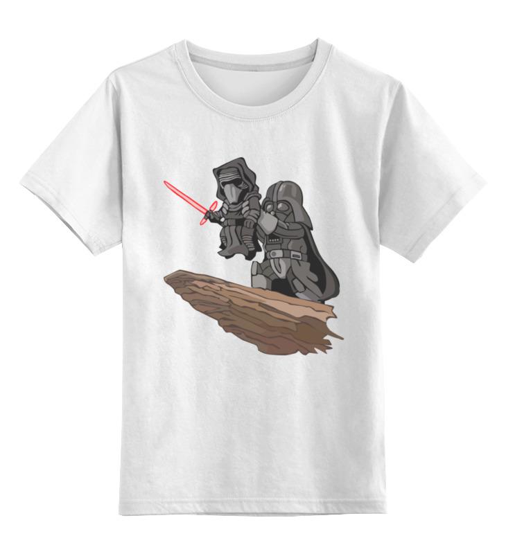 Детская футболка классическая унисекс Printio Кайло рен starwars кружка детская пробуждение силы кайло рен 350 мл