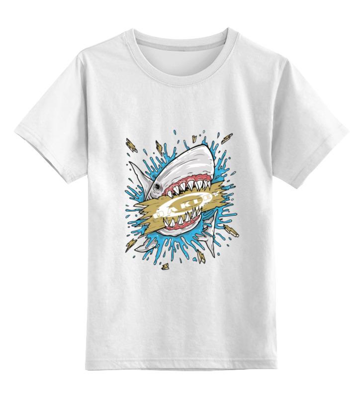 Детская футболка классическая унисекс Printio Акула oem 10 144 430 na 626 sma walkie talkie baofeng 5r b6 px 888k uvd1p na 626