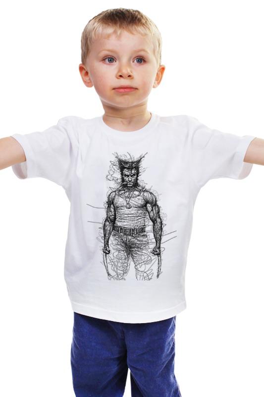 Детская футболка классическая унисекс Printio Росомаха детская футболка классическая унисекс printio мачете