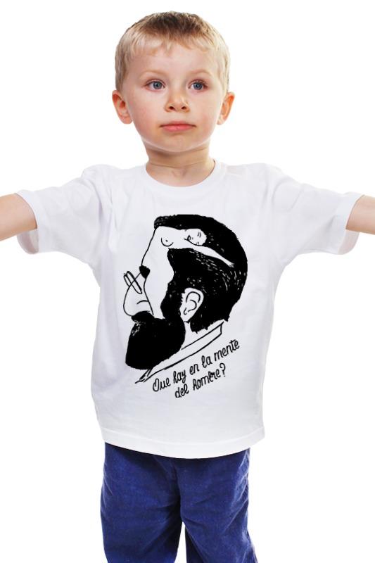 Детская футболка классическая унисекс Printio Зигмунд фрейд (sigmund freud) walter benjamin and sigmund freud between theory and politics