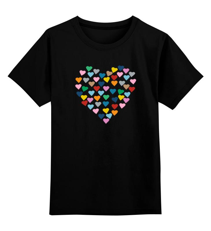 Printio Сердце детская футболка классическая унисекс printio сердце