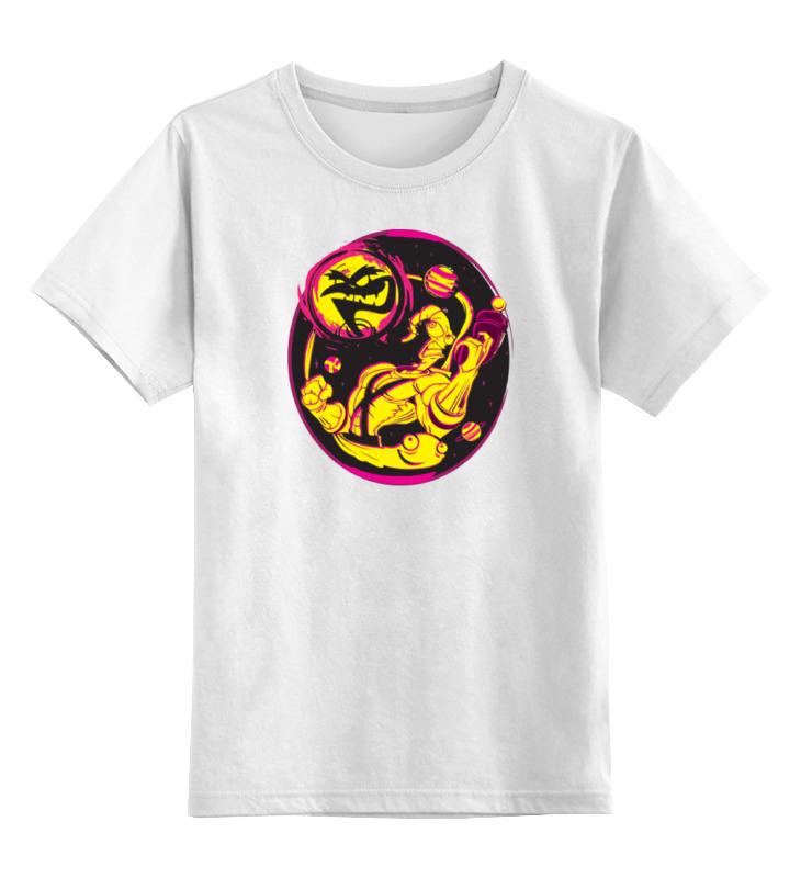 Детская футболка классическая унисекс Printio Червяк джим