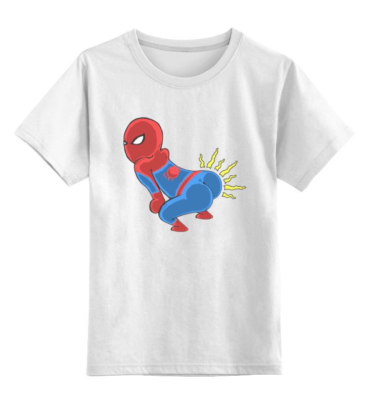 Детская футболка классическая унисекс Printio Человек паук академия групп пенал человек паук