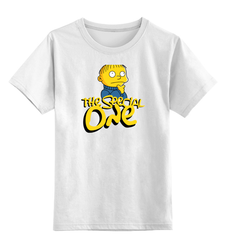 Детская футболка классическая унисекс Printio Ральфи (симпсоны) футболка классическая printio 62 2% в саратове