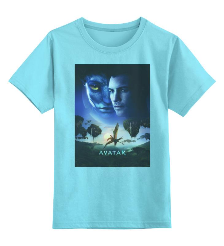 Фото Детская футболка классическая унисекс Printio Avatar / аватар