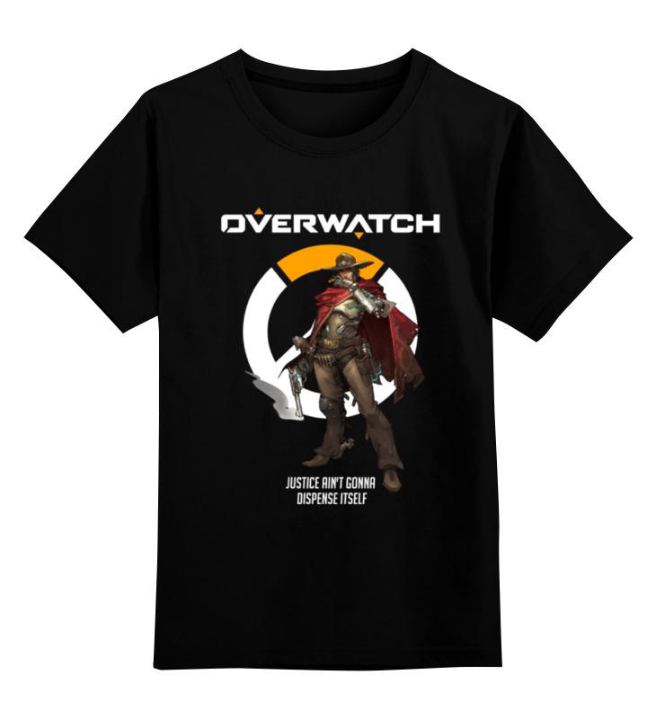 Printio Overwatch. маккри детская футболка классическая унисекс printio overwatch