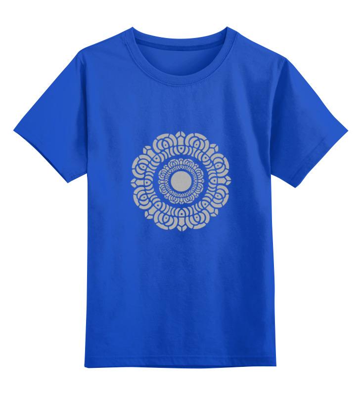 Детская футболка классическая унисекс Printio Символ лотоса майка классическая printio символ лотоса