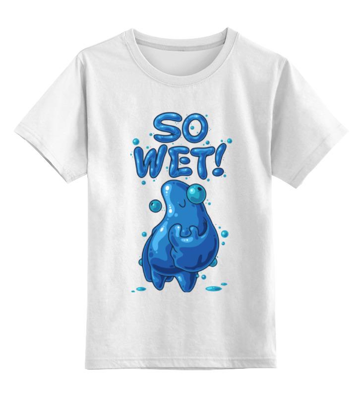 где купить Детская футболка классическая унисекс Printio Так морко (монстрик) дешево