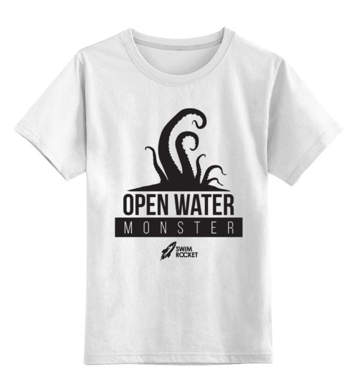 Детская футболка классическая унисекс Printio Open water monster футболка классическая printio open water queen