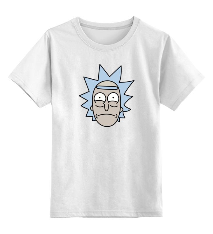Детская футболка классическая унисекс Printio Рик санчес детская футболка классическая унисекс printio ты моя мамочка