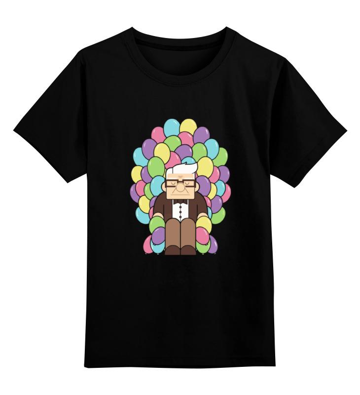 Детская футболка классическая унисекс Printio Вверх (up) вверх