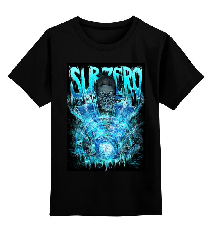 Детская футболка классическая унисекс Printio Mortal kombat детская футболка классическая унисекс printio мотобайк