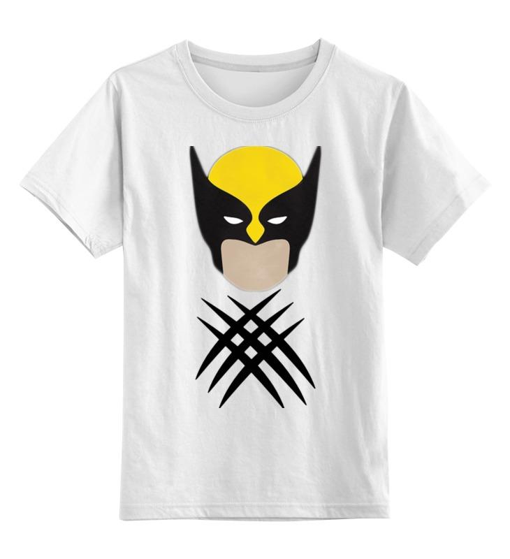 Детская футболка классическая унисекс Printio Росомаха (люди-икс) футболка классическая printio росомаха люди икс