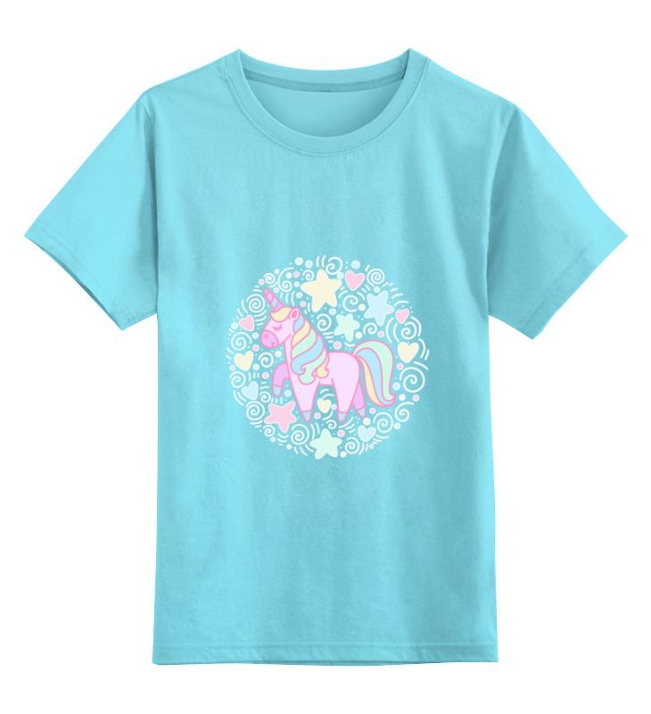 Детская футболка классическая унисекс Printio Unicorn baofeng baofeng uv 5r портативного коммерческих двухступенчатый двойной уф раздел wings ручной настройка