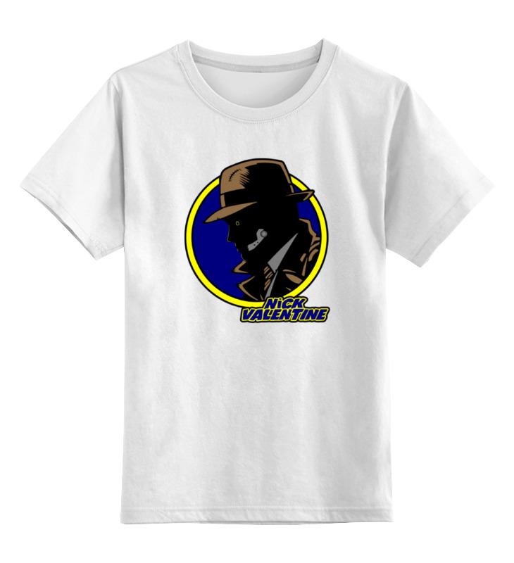 Детская футболка классическая унисекс Printio Ник валентайн (фэллаут) футболка классическая printio fallout фэллаут