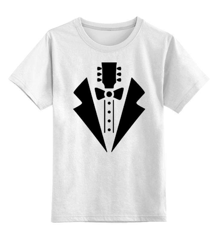 Детская футболка классическая унисекс Printio Гитара-галстук гитара классическая 3 4 в москве