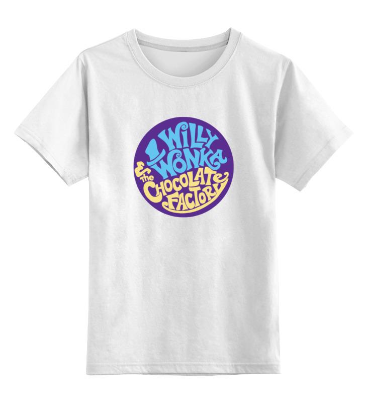 все цены на Детская футболка классическая унисекс Printio Вилли вонка онлайн
