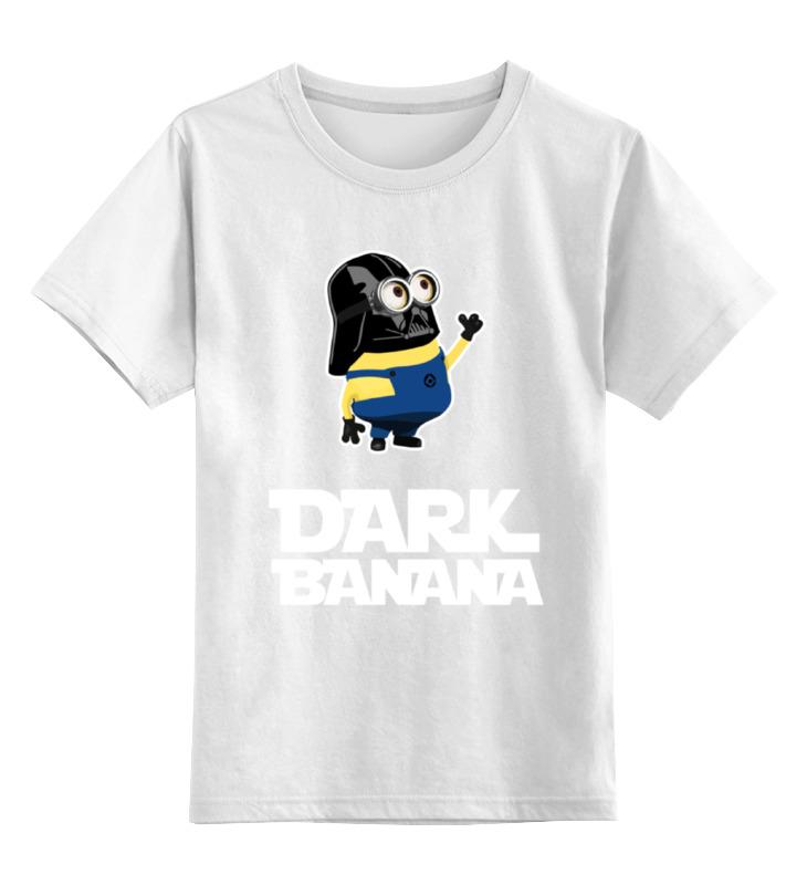 Детская футболка классическая унисекс Printio Миньон вейдер (star wars)
