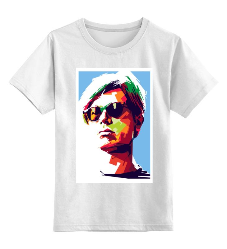 Детская футболка классическая унисекс Printio Энди уорхол