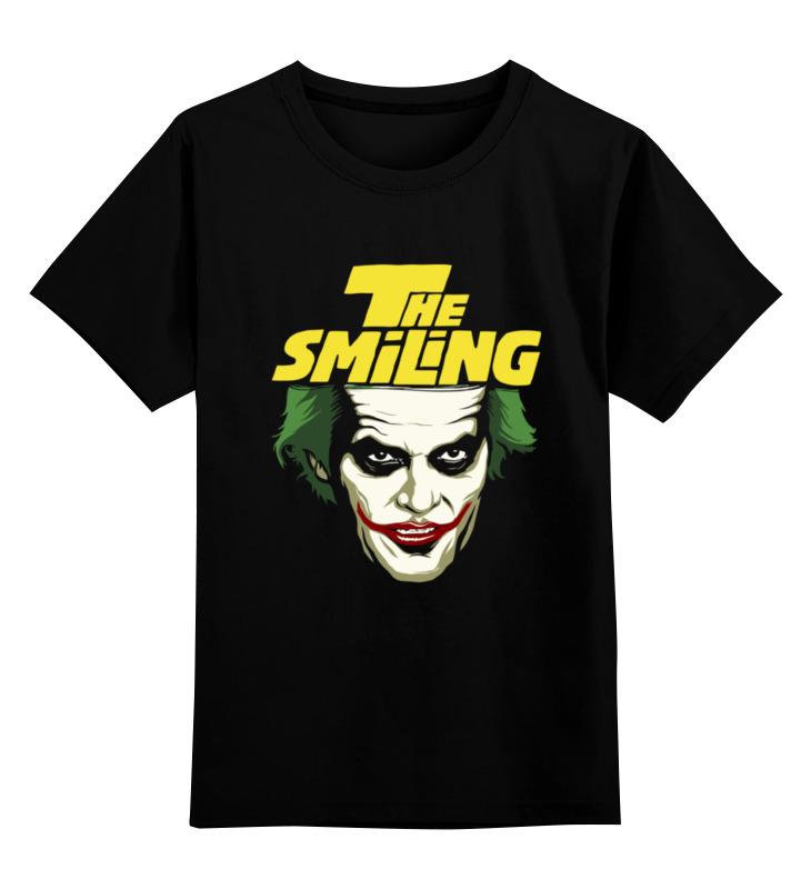 Детская футболка классическая унисекс Printio The smiling детская футболка классическая унисекс printio the cure wish