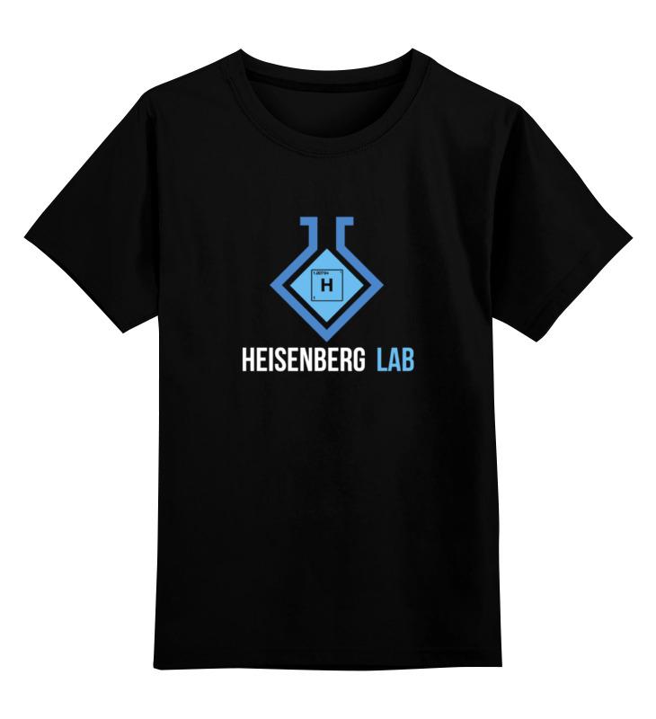 Детская футболка классическая унисекс Printio Хайзенберг лаб (во все тяжкие)