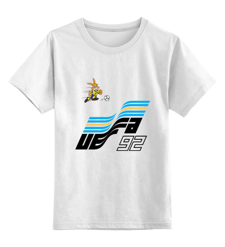 Детская футболка классическая унисекс Printio Чемпиона европы по футболу 1992 год opel frontera 1992 года в москве 120000