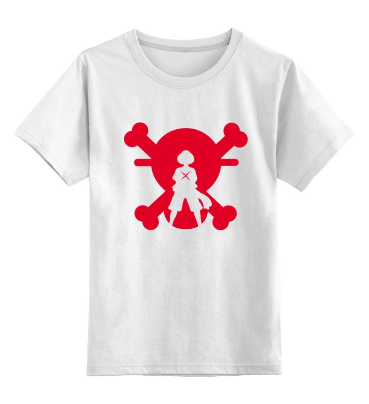 Детская футболка классическая унисекс Printio Луффи (соломенная шляпа)