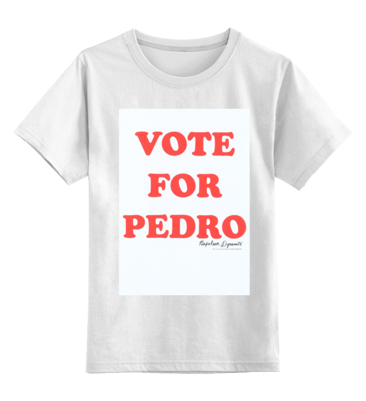 Детская футболка классическая унисекс Printio Napoleon dynamite dynamite baits xl pineapple