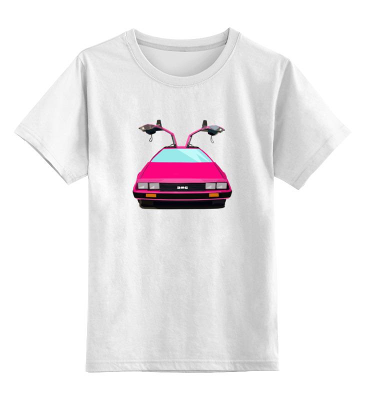 Детская футболка классическая унисекс Printio Назад в будущее