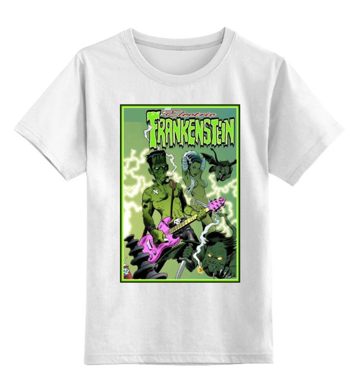 Детская футболка классическая унисекс Printio Frankenstein rocker gris grimly s frankenstein