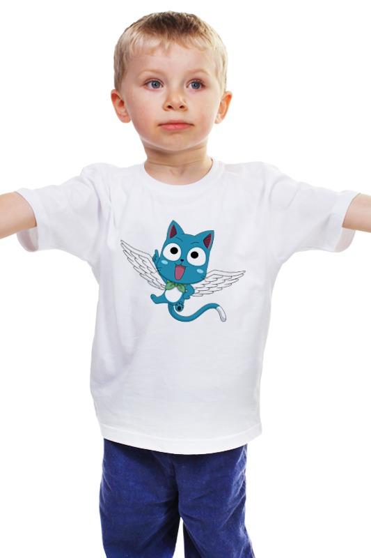 Детская футболка классическая унисекс Printio Хэппи купить хэппи дог консервы 1060