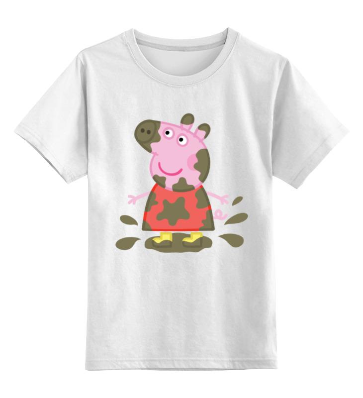 Детская футболка классическая унисекс Printio Peppa pig игровые наборы свинка пеппа peppa pig пеппа и джордж