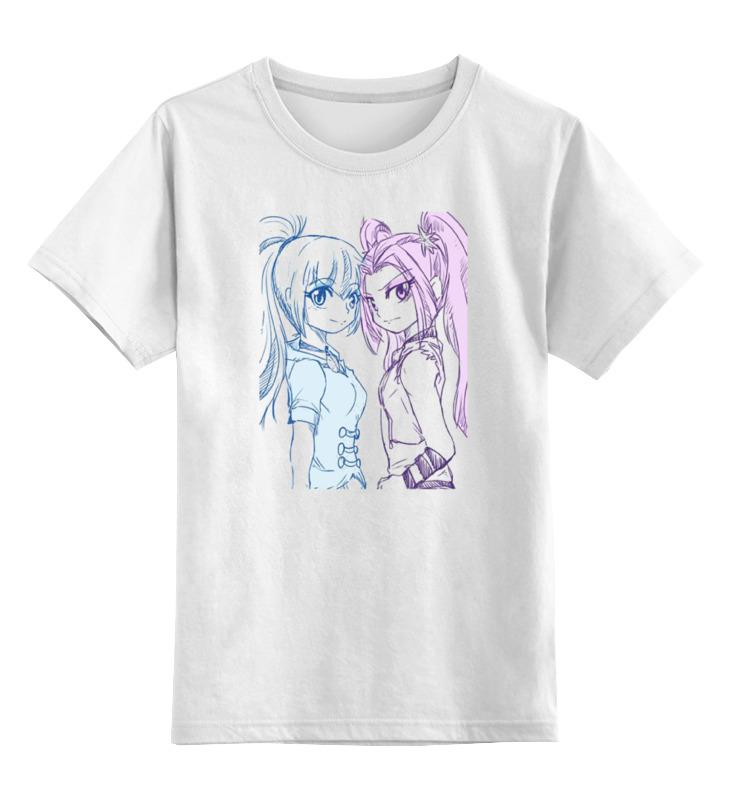 Детская футболка классическая унисекс Printio Sonata dusk