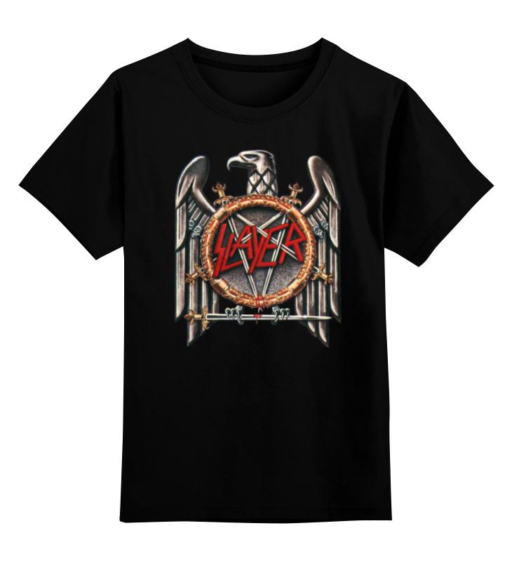 Детская футболка классическая унисекс Printio Slayer