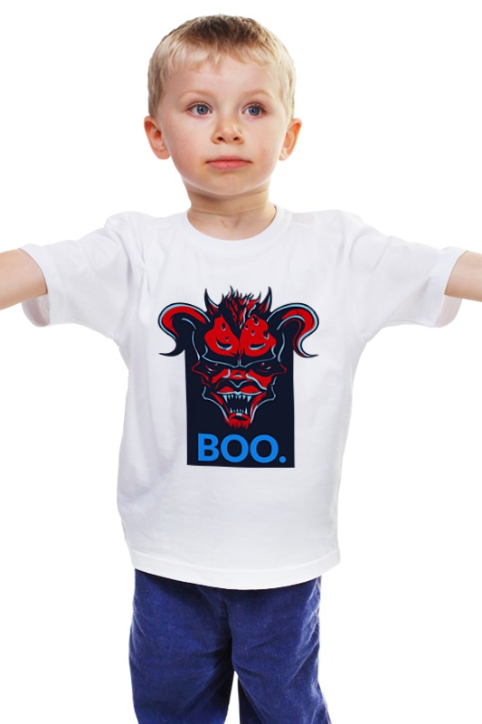 Детская футболка классическая унисекс Printio Boo детская футболка классическая унисекс printio мачете убивает