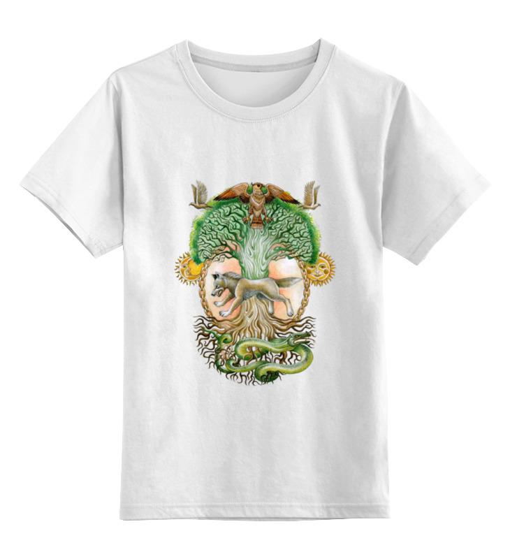 Детская футболка классическая унисекс Printio Славянское древо футболка классическая printio древо жизни