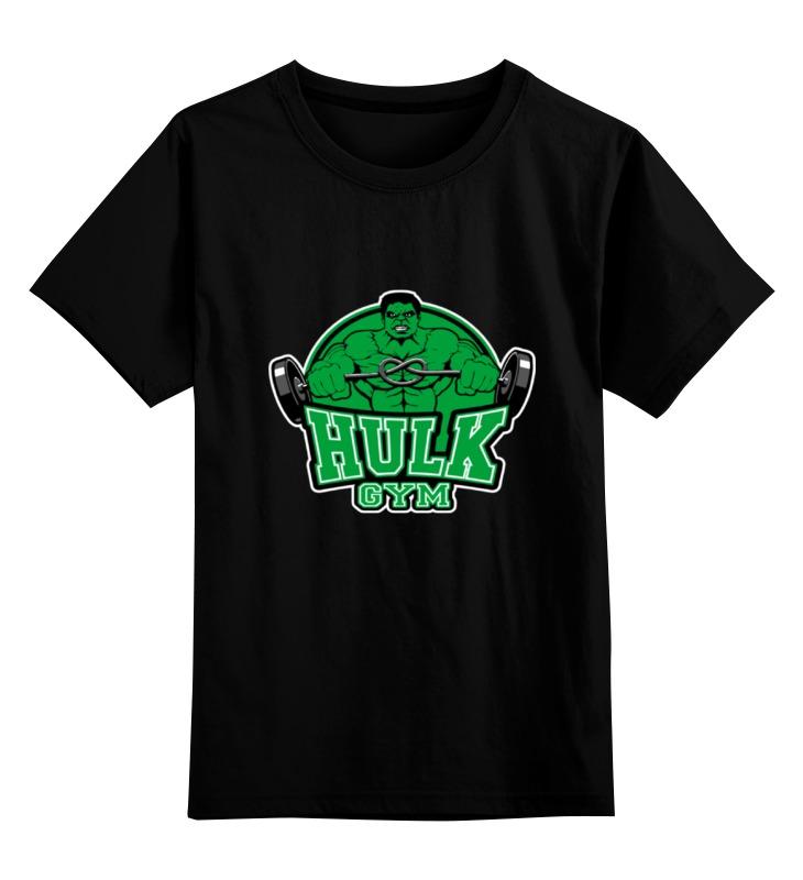Детская футболка классическая унисекс Printio Hulk gym детская футболка классическая унисекс printio мачете