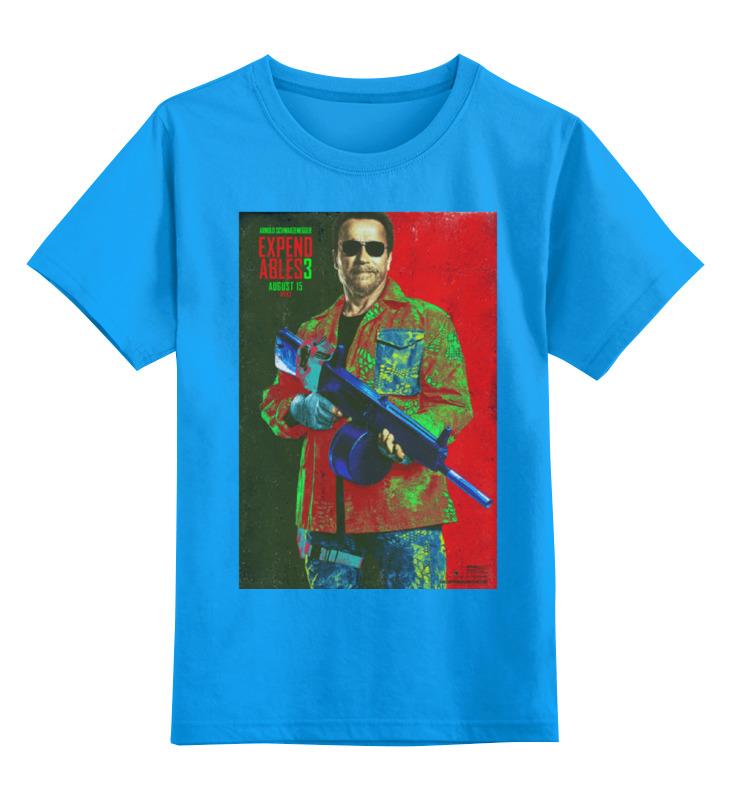 Детская футболка классическая унисекс Printio Expendables iii shwarzenegger colors футболка wearcraft premium slim fit printio expendables iii shwarzenegger colors