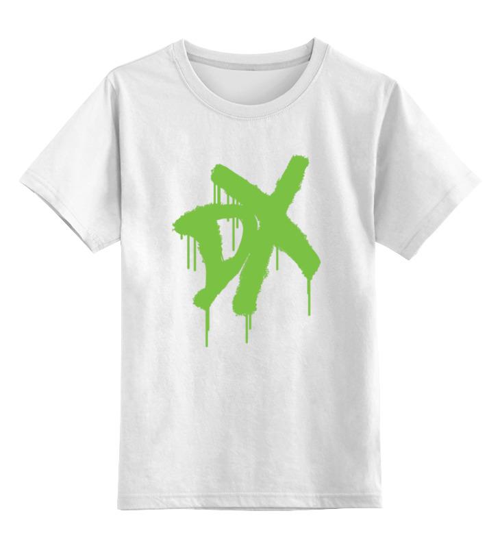 Детская футболка классическая унисекс Printio D-generation x