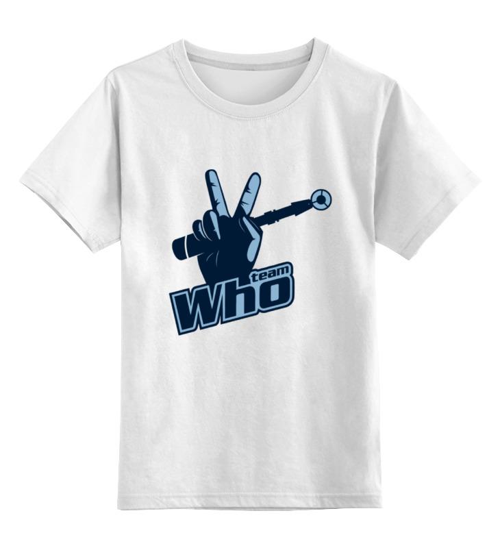 Детская футболка классическая унисекс Printio Team who детская футболка классическая унисекс printio team who